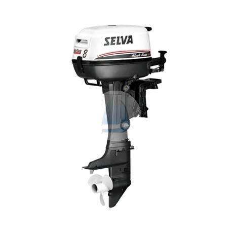 SELVA 8k BlackBass – závesný 4-taktný lodný motor
