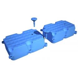 Plastový pontón - modul 1 - 1,1 x 0,7 x 0,34