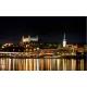 Plavba nočnou Bratislavou