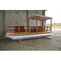 Pontónová hliníková loď / katamarán rekreačný - Shiptech 477