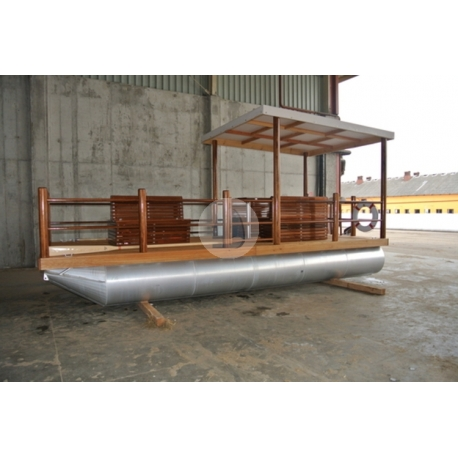 Pontónová hliníková loď Shiptech 477- katamarán rekreačný