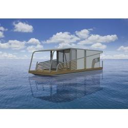 Schab Houseboat 11 - Hausbot 11x3m