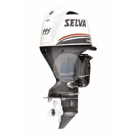 SELVA 115 Swordfish EFI– závesný 4 taktný lodný motor