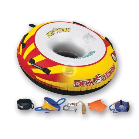 Nafukovacie vodné koleso Sundown pre 1 osobu