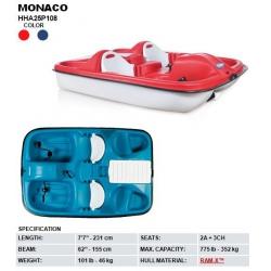 Plastový vodný bicykel MONACO