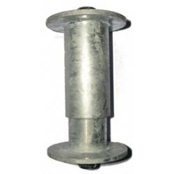Plastový modulárny pontón 05-spojovací čap krajný-pozink