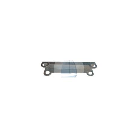 Plastový modulárny pontón 05-postranná oderka kovová-pozinkovaná, dlžka 2080mm