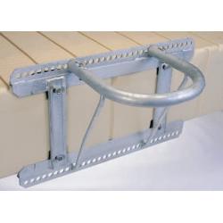 Plastový pontón EZ dock – kotvenie-úchyt4 pre priem.od10cm