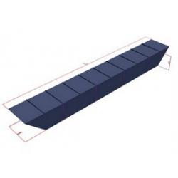 Oceľové plaváky priemyselné-A (2,7x0,75x0,75m)