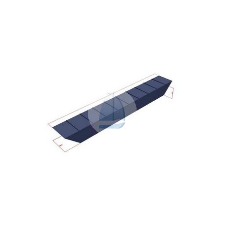 Oceľové plaváky priemyselné-D(9,2x1x1m)