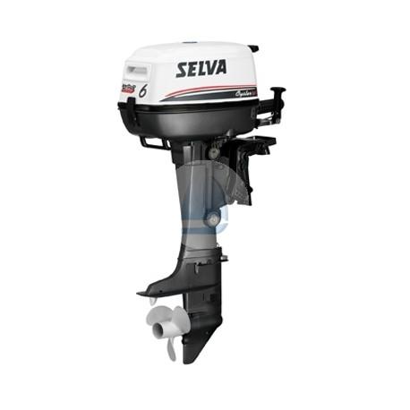 SELVA 6k Oyster – závesný 4-taktný lodný motor