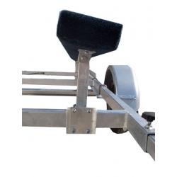 Výškovo nastaviteľná stojka s držiakom na lyžinu