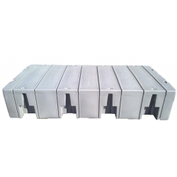 Plastový pontón velky - séria 2000 - 2,44x1,22m