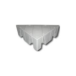 Plastový pontón trojuholník - séria 2000 - 1,7x0,61m
