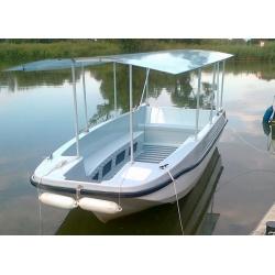 JAG6 OPEN 12 miestny motorový čln