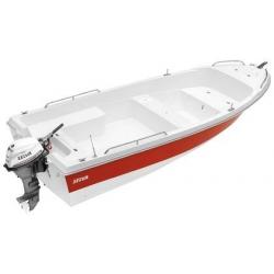Laminátový čln Open Line - Tiller 4.8